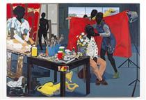 Untitled (Studio) - Kerry James Marshall