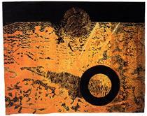Paisatge còsmic,  Tharrats-Delclaux - Carles Delclaux Is