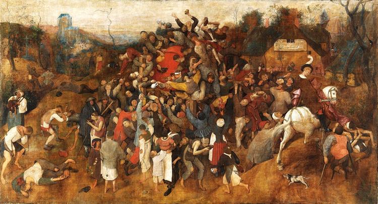 The Wine of Saint Martin's Day, 1565 - 1568 - Pieter Bruegel the Elder