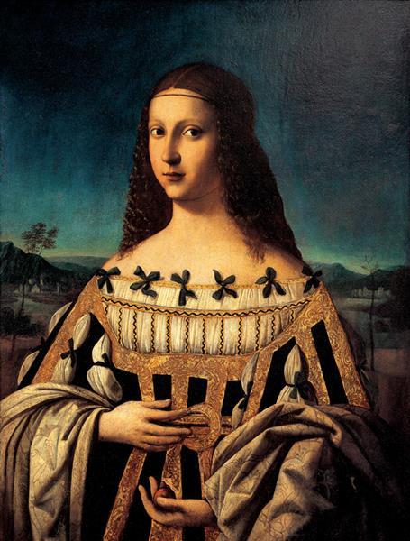 Beatrice D'Este, 1510 - Bartolomeo Veneto