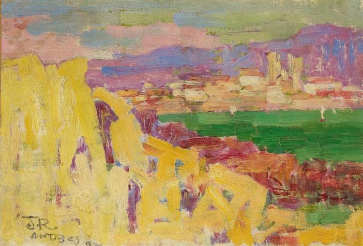 Antibes, c.1890 - 1892 - John Peter Russell