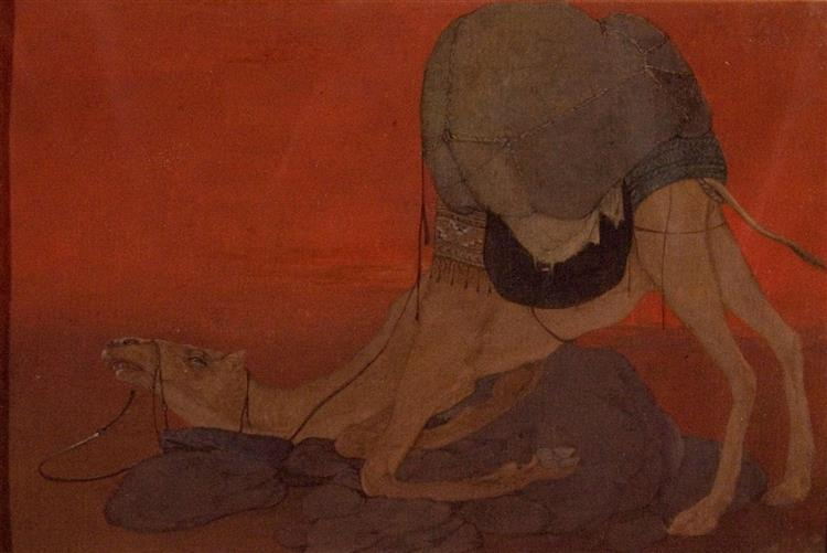 Journey's End, 1913 - Abanindranath Tagore