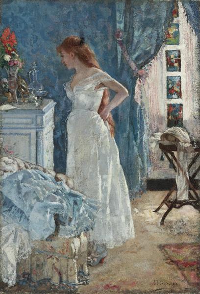La Toilette, 1879 - Анри Жерве