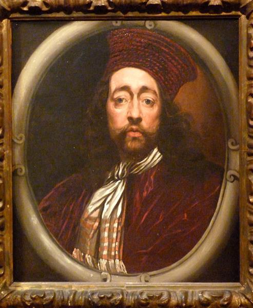 Self-portrait, c.1670 - Isaac Fuller