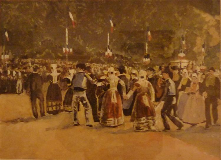 Fêtes À Quimper, 1930 - Max Jacob