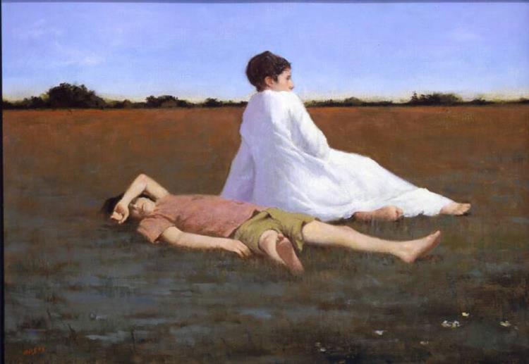 Resting II, 2005 - Aaron Shikler