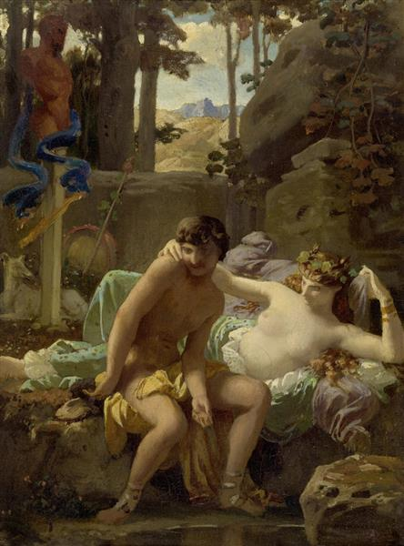 Cléonis Et Cydippe, 1843 - Charles Gleyre