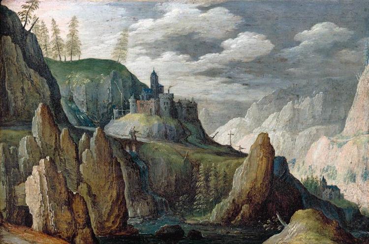Mountainous Landscape - Tobias Verhaecht