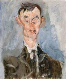 Portrait of Emile Lejeune - Chaim Soutine