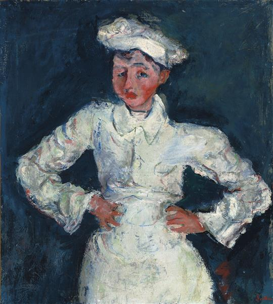 The Pastry Chef, 1927 - Chaim Soutine