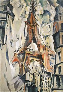 Torre Eiffel - Robert Delaunay