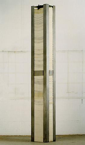 A Number Between Zero and One, 1970 - Siah Armajani