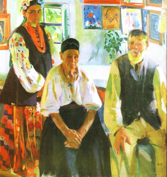 Peasant Family - Oleksandr Murashko