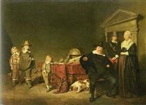 Family Group - Pieter Codde