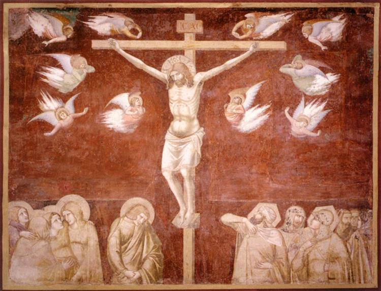Crucifixion, c.1336 - c.1337 - Pietro Lorenzetti