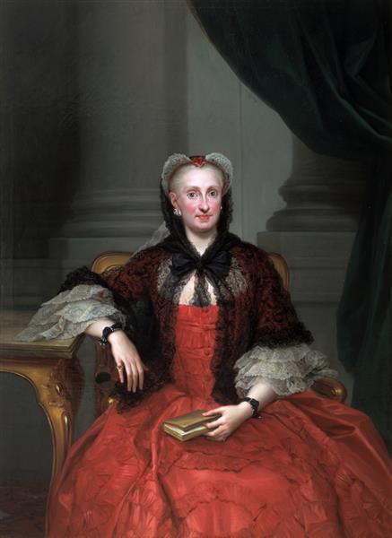 Maria Amalia of Saxony, 1763 - Anton Raphael Mengs