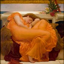 Flaming June - Frederic Leighton