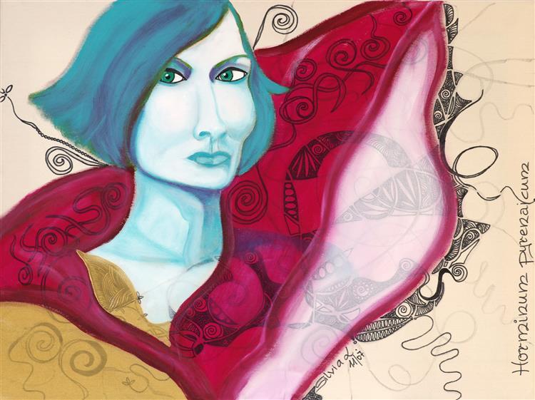 IMGP Rosa Rot Malwerk Silvia L Lueftenegger Contemporary Art Design Performance Theater Shoe 7310 - Silvia L. Lueftenegger RosaRot