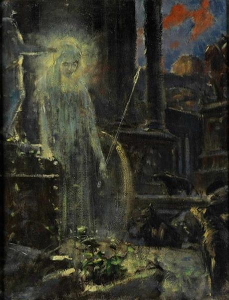 Apparition   Adolf Hirémy Hirschl
