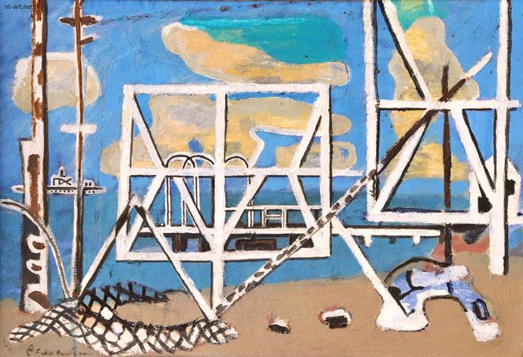 Plage Constructions, 1970 - Roman Selsky
