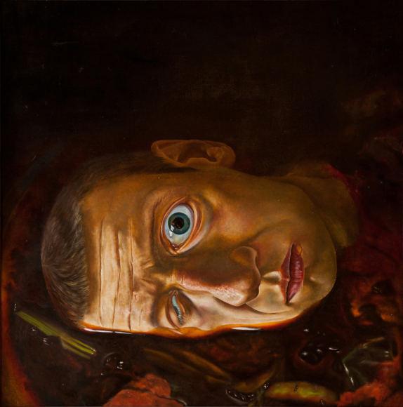 Autoportrait no. 4, 1985 - Sarunas Sauka