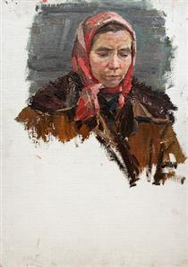 Female Portrait - Viktor Shatalin