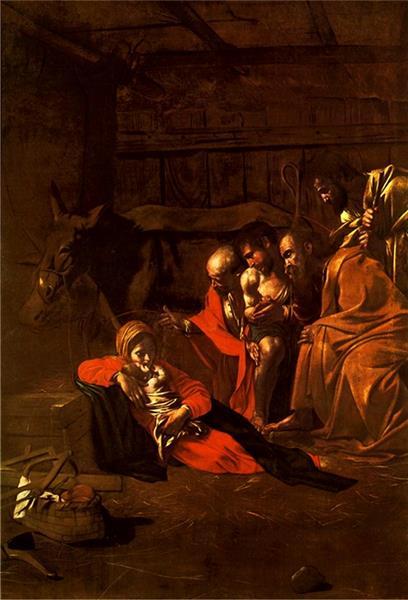 Adoration of the Shepherds, 1609 - Caravaggio