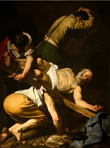 Crucifixion of Saint Peter, 1601 - Caravaggio