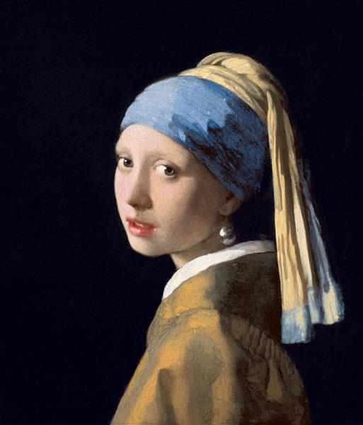 Дівчина з перловою сережкою, c.1665 - Ян Вермер