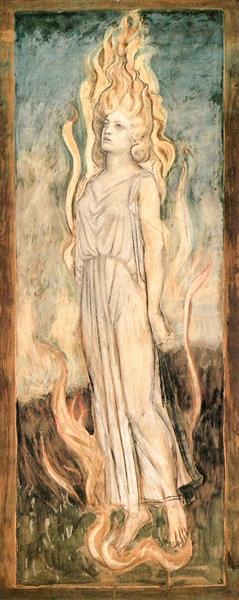 Semele, 1921 - John Duncan