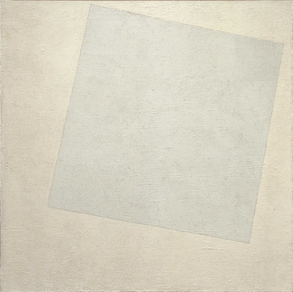 Suprematist Composition: White on White, 1917 - 1918 - Kazimir Malevich