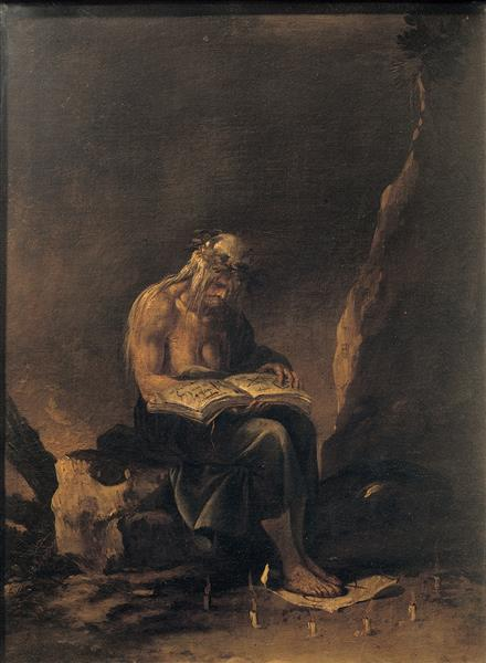 A Witch, 1646 - Salvator Rosa