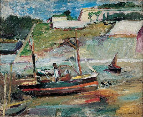 Belle Ile (Le Port De Palais) - Henri Matisse