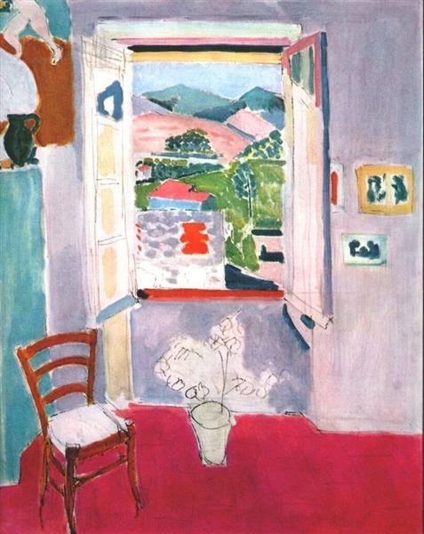 Open Window at Collioure, 1910 - Henri Matisse