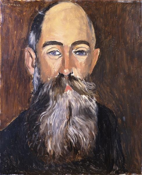 L'Antiquaire Georges Joseph Demotte, 1918 - Henri Matisse