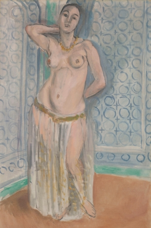 Odalisque in blue or white slave, 1922 - Henri Matisse