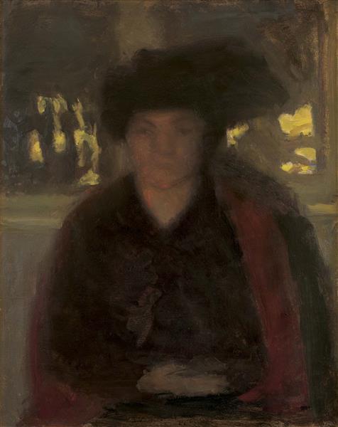 Portrait of Rosa Schleichkorn, 1899 - Wojciech Weiss