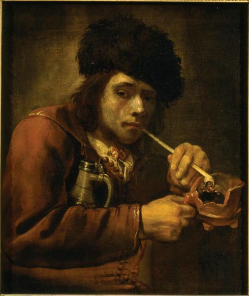 Smoker, c.1670 - Juriaen van Streeck