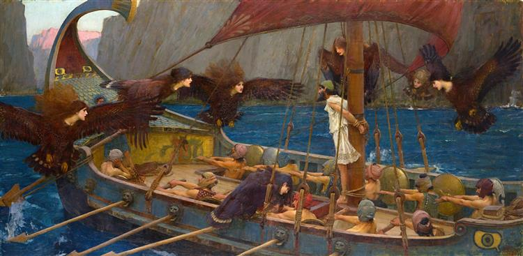 Ulysses and the Sirens, 1891 - John William Waterhouse