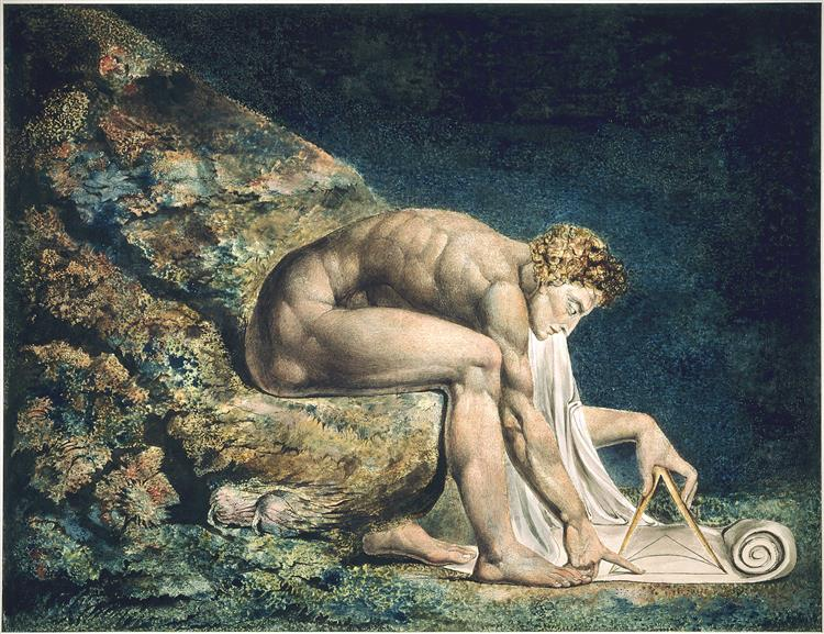 Isaac Newton - William Blake