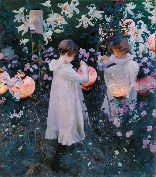 Carnation, Lily, Lily, Rose, 1885 - 1886 - John Singer Sargent