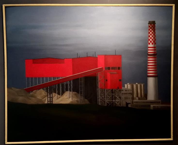 Cement Factory, 1987 - Maria Stolarova