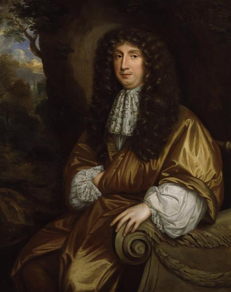 Portrait of George Savile, 1st Marquess of Halifax (1633-1695), 1676 - Mary Beale