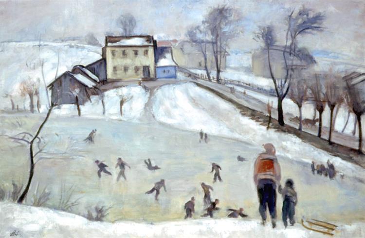 Ice Skating - Wojciech Weiss
