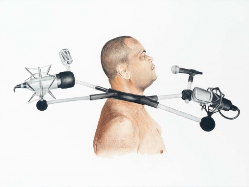 Punishment collar or who will speak for us, 2014 - Sidney Amaral