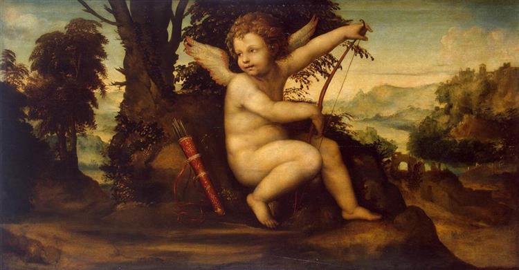 Cupid in a Landscape, 1510 - Giovanni Antonio Bazzi