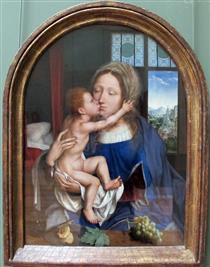 Madonna col Bambino - Quentin Massys