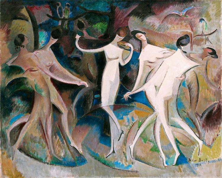 Beauties' Fancy, 1918 - Alice Bailly