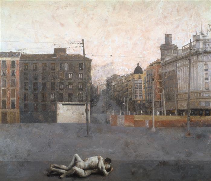 Atocha, 1964 - Antonio Lopez Garcia
