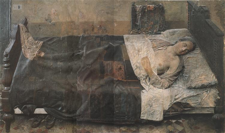 Woman (the Dream), 1964 - Antonio Lopez Garcia